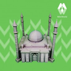 3D Printable Mihrimah Mosque / Istanbul by Zaxe 3DPrint