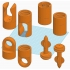 Garden fasteners image