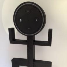 Echo dot Totem holder