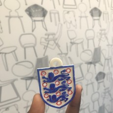 Picture of print of Football World Cup England Key Chain
