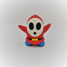 Picture of print of Shy Guy from Mario games - Multi-color