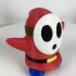 Shy Guy from Mario games - Multi-color print image