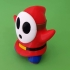 Shy Guy from Mario games - Multi-color image