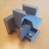 3 Piece Puzzle Cube Box image