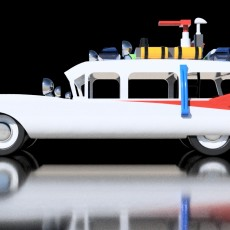 Ghostbusters ECTO-1 1:50 scale
