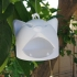 Happy Cat Hanging Bird Feeder #Tinkerfun image