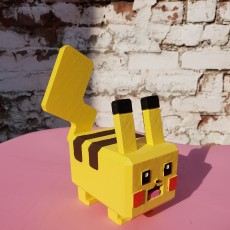 Picture of print of Pokémon Quest - Pikachu
