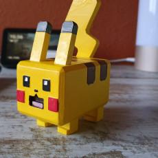 Picture of print of Pokémon Quest - Pikachu