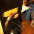 Pc case headset holder image