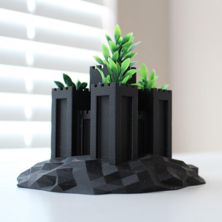 Castle Planter