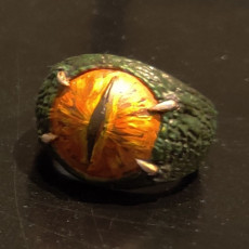 Picture of print of Dragon Eye Ring