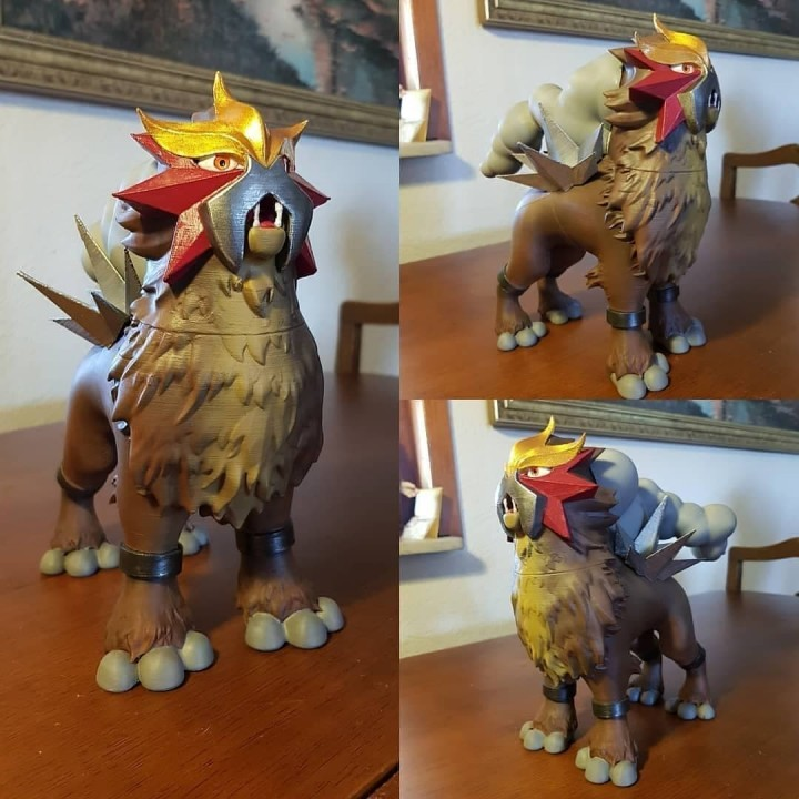 Legendary Pokémon Entei