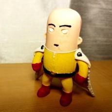 Picture of print of mini Saitama - One-punch man