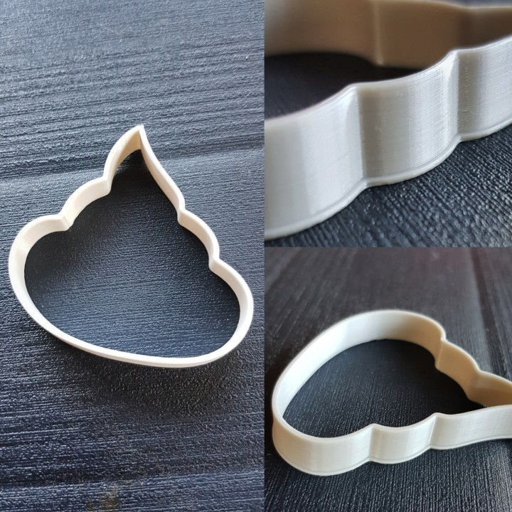 Poo Cookie Cutter