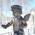 Winged boy image