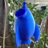 Rocket Hanging Bird House #Tinkerfun image