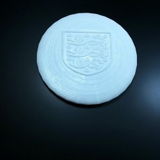 Picture of print of England Frisbee