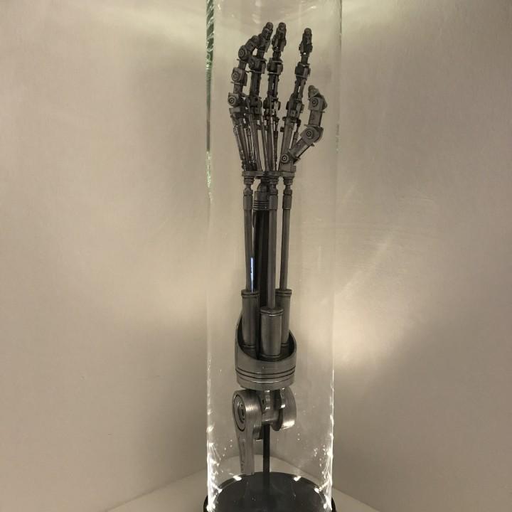 DIY Life-Size Terminator Arm Lamp