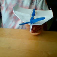 Picture of print of Rubber Band Powered Plane #TINKERFUN