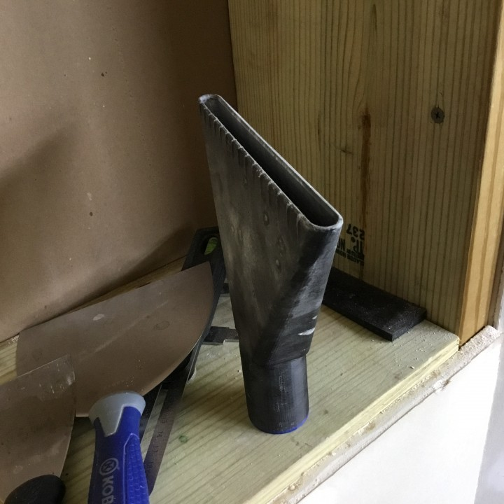 Sheetrock Finishing Sanding Cleaning Attachment