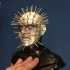 The head of Pinhead from hellraiser image
