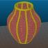 Gyroid Vase image