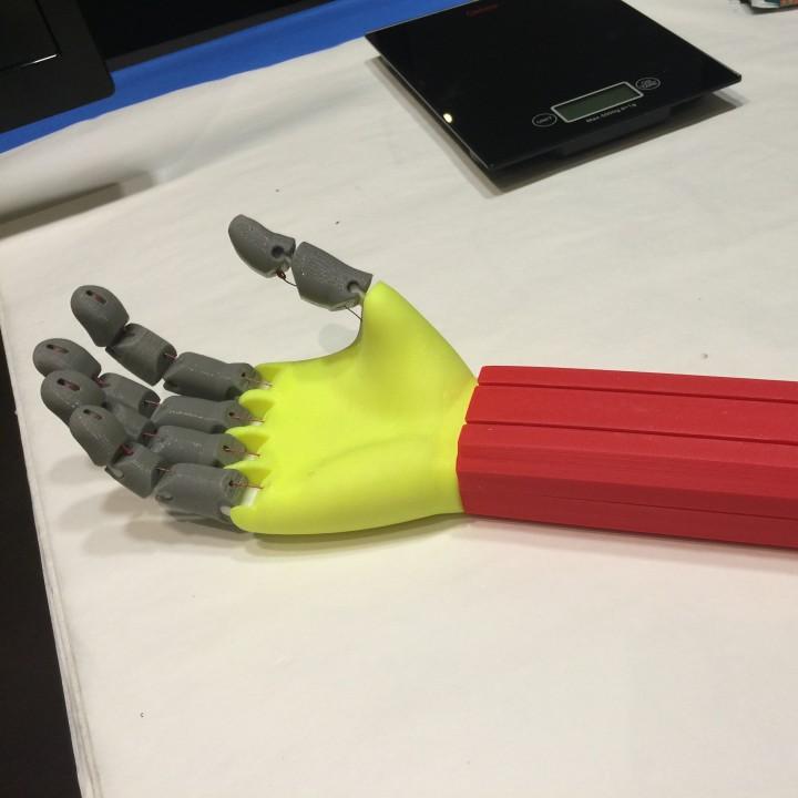 Arduino driven Hand Actuator