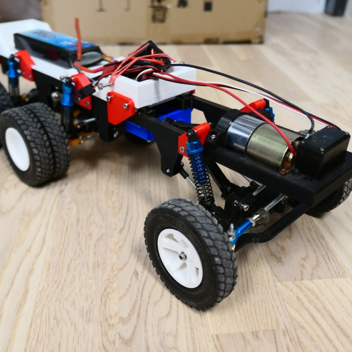 3D Printed RC Truck V4