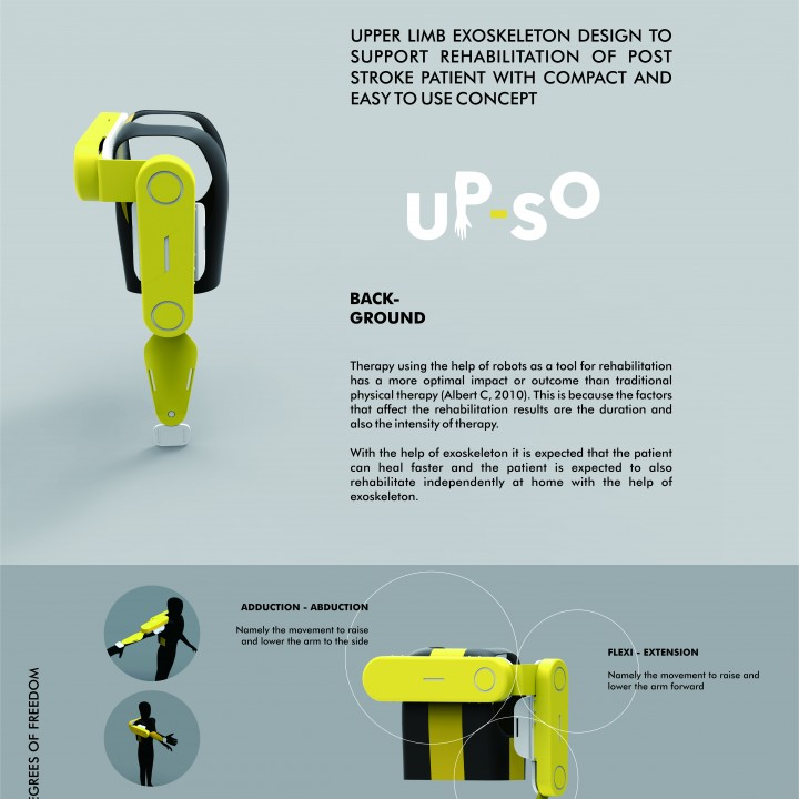 CRE-007 Upper Limb Exoskeleton - Huced Despro ITS