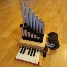 3D Printed Pipe Organ