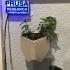 wall mounted pot using wall stickers image