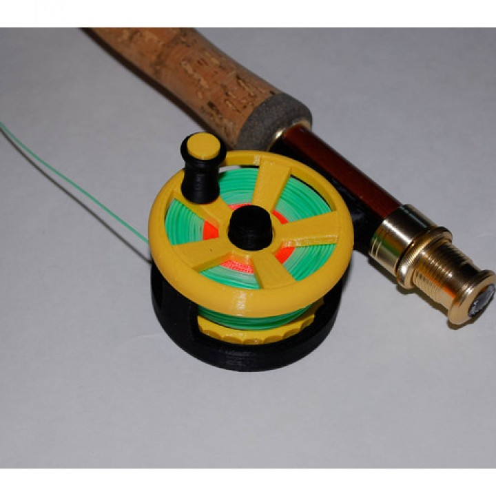 Ultralight Fly Fishing Reel