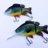 Realistic Sunfish Jointed Swimbait Fishing Lure image
