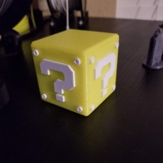Picture of print of Question Block Switch Cartridge Case