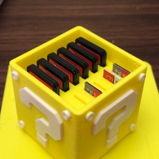 Picture of print of Question Block Switch Cartridge Case Dieser Druck wurde hochgeladen von Oumar