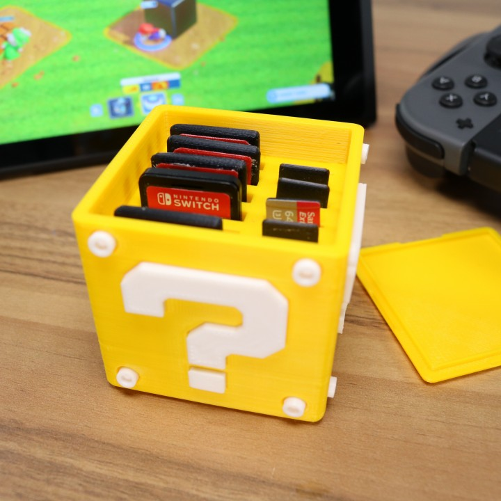 Загрузить question block switch cartridge case by kickass3dprints