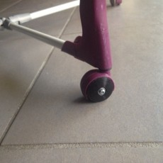 generic clothes horse replacement wheel