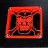 80mm Fan Skull Grill and Intake Flange image