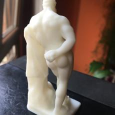 Picture of print of Farnese Hercules