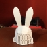 Bunny Hat Low Poly Version image