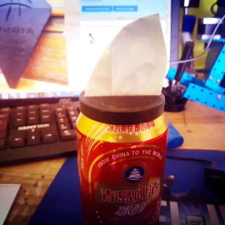 E.T.创意元 易拉罐纸抽 #Tinkerfun