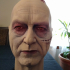 Sebastian Shaw Darth Vader head print image