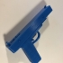 Gun fun print image