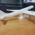 Highly detailed A340-600 with pencil holder image