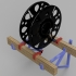 Spool Holder for 3DPN filament Shelf image