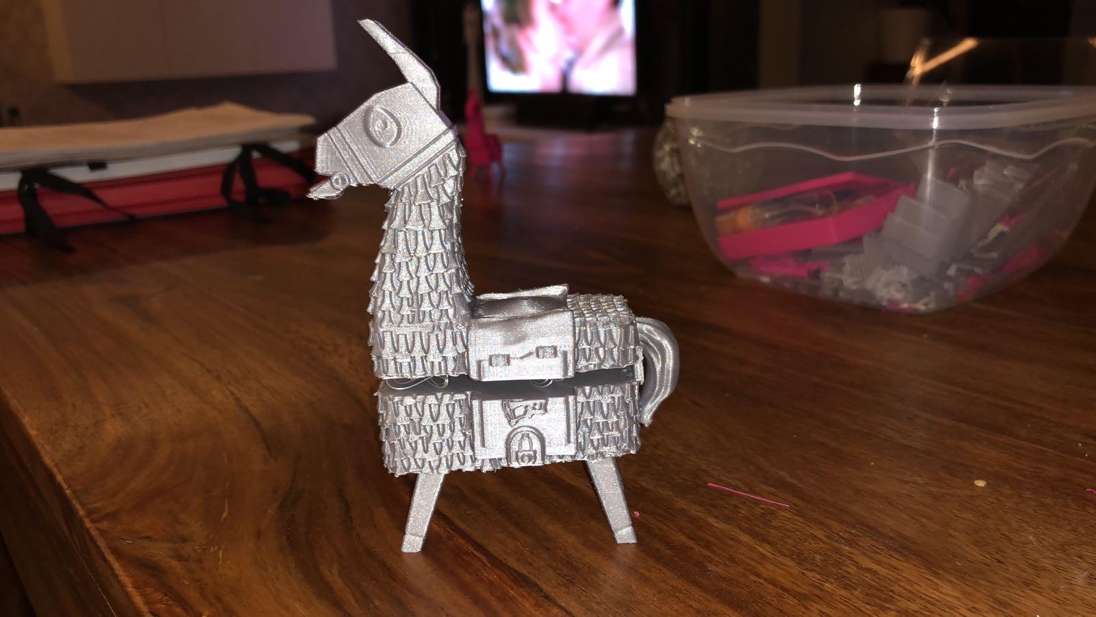 3D Printable Fortnite Llama by Fotis Mint