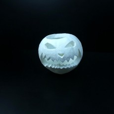 Picture of print of Carved Halloween Pumpkin