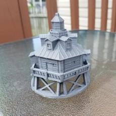 Miniature Thomas Point Shoal Lighthouse