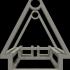 Filament holder for shelf - Matterhackers image
