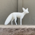 Simple Fox (Totemic) print image
